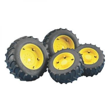 Rotaļu riepu komplekts traktoram