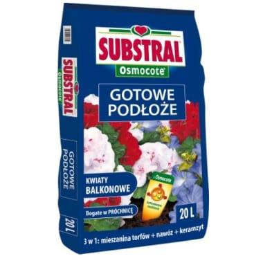 Augsne āra augiem universālā + Osmocote mēslojums Substral, 20 L