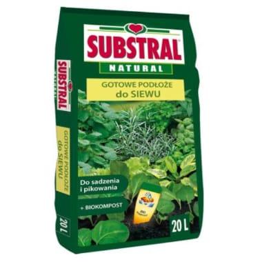 Augsne sēšanai un garšaugu audzēšanai Substral, 20 L