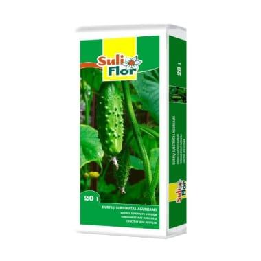Substrāts gurķiem Suliflor, 20 L
