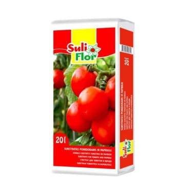 Substrāts tomātiem Suliflor, 20 L