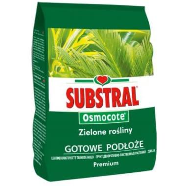 Augsne zaļajiem augiem Substral, 3 L