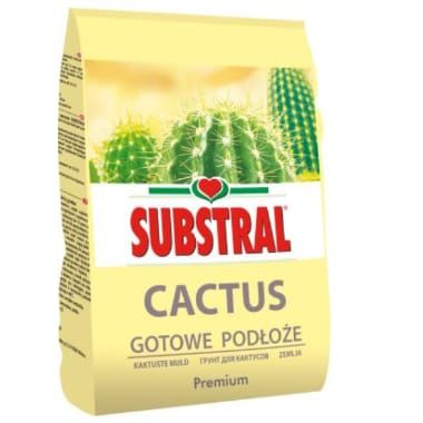 Augsne kaktusiem Substarl, 3 L
