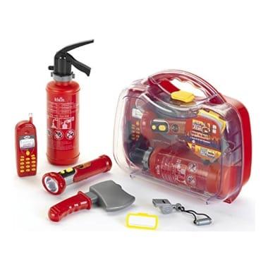 Rotaļu ugunsdzēsēju komplekts