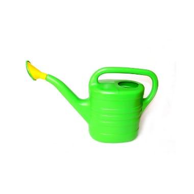 Lejkanna ar sietiņu, zaļa, 10 L