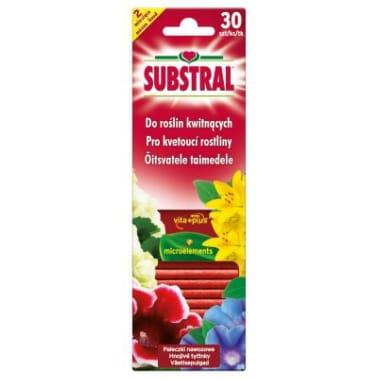 Mēslojuma stienīši Viatl-Aktiv ziedošiem augiem Substral, 30 gab.