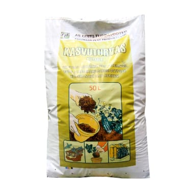 Igauņu kūdra gurķiem, 50 L