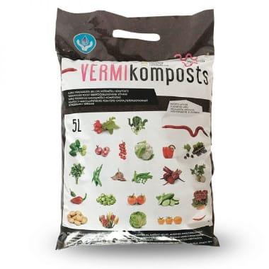 Vermi-Komposts Green-PIK LAT, 5 L