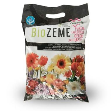 Biozeme puķēm Green- Pik Lat, 10 L