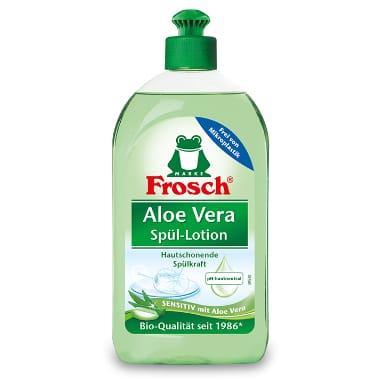 Trauku mazgāšanas losjons ar alveju, Frosch, 500 ml