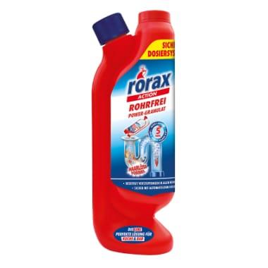Granulas kanalizācijas tīrīšanai Rorax, 600 g
