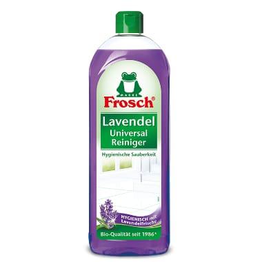 Universāls tīrīšanas līdzeklis ar lavandu, Frosch, 750 ml
