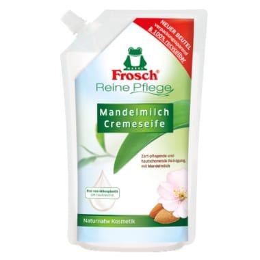 Šķidrās ziepes ar mandeļu pienu Frosch, 500 ml