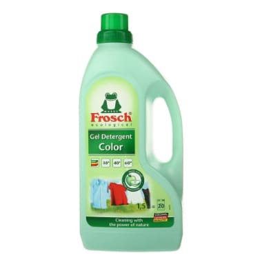 Mazgāšanas līdzeklis krāsainai veļai, Frosch, 1,5 L