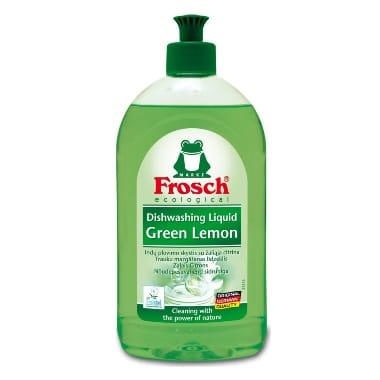 Trauku mazgāšanas līdzeklis ar citronu ekstraktu, Frosch, 500 ml