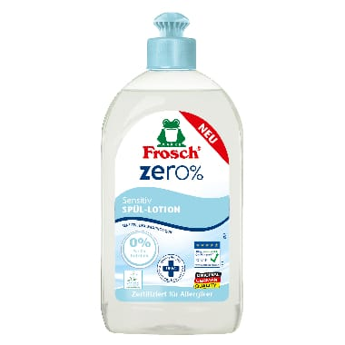 Trauku mazgāšanas līdzeklis Zero Frosch, 500 ml