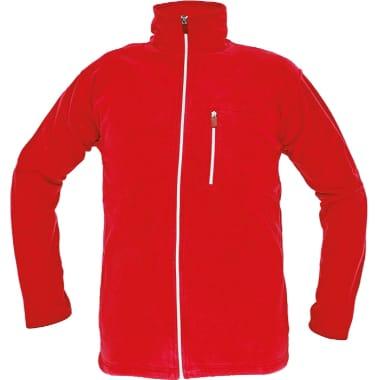 Flīsa jaka Karela sarkana