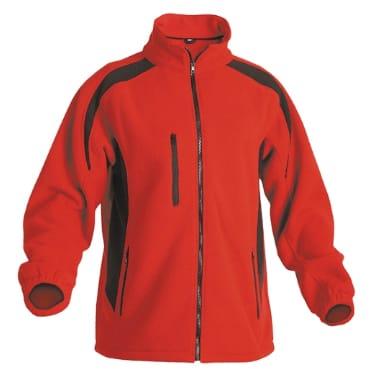 Flīsa jaka Tenrec sarkana