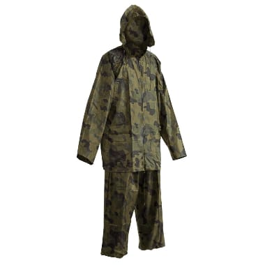 Lietus komplekts kamuflāžas (jaka+bikses) Carina