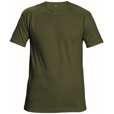 T-krekls Teesta zaļš