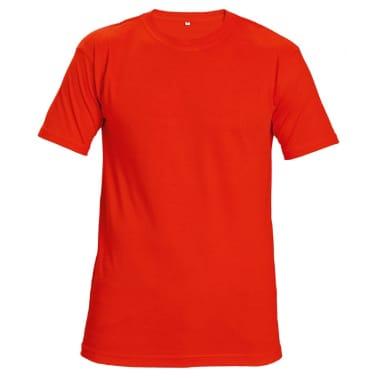 T-krekls Teesta sarkans