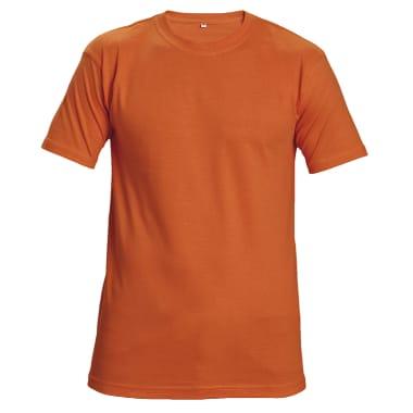 T-krekls Teesta oranžs