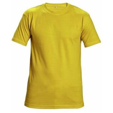 T-krekls Teesta dzeltens
