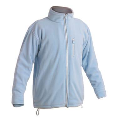 Flīsa jaka Karela gaiši zila