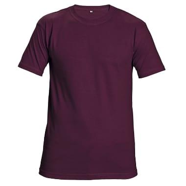 T-krekls Teesta bordo