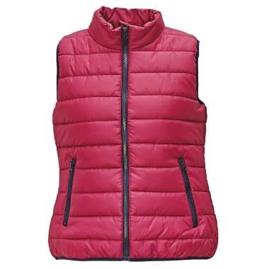 Stepēta sieviešu veste Firth Lady rozā
