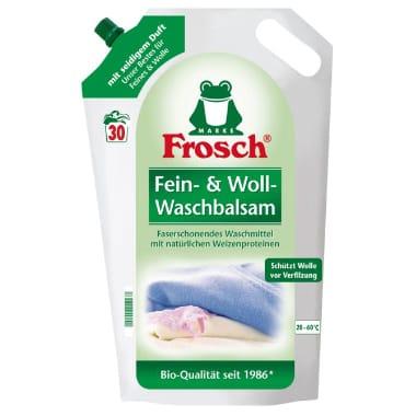 Veļas mazgāšanas balzams vilnai un zīdam, Frosch, 1,8 L