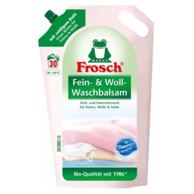 Veļas mazgāšanas balzams jutīgiem audumiem, Frosch, 1,8 L