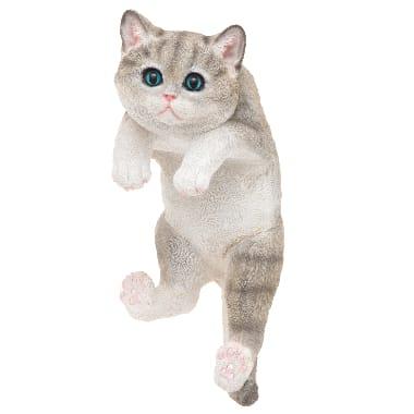 Dekors uzrāpies kaķis, 4living, 32 cm