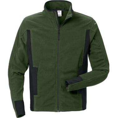 Mikroflīsa jaka 4003 Fristads, zaļa