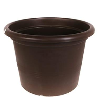 Puķu pods Campanula, tumši brūns, 9 cm