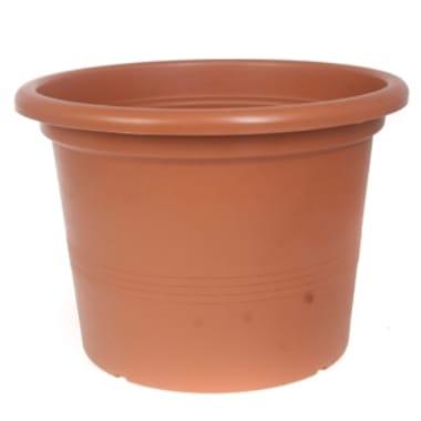 Puķu pods Campanula, gaiši brūns, 9 cm