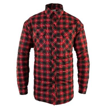 Flaneļa krekls siltināts Bono, sarkans