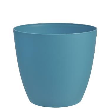 Puķu pods Ella, zils, 11 cm