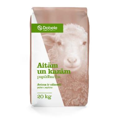 Spēkbarība aitām un kazām Dobeles dzirnavnieks, 20 kg