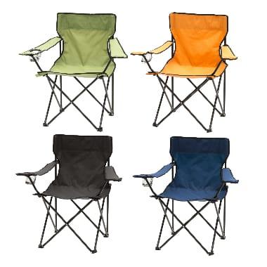Kempinga krēsls Atom, krāsains