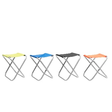 Kempinga krēsls Atom mazs, krāsains