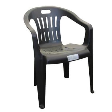 Dārza krēsls Piona, pelēks