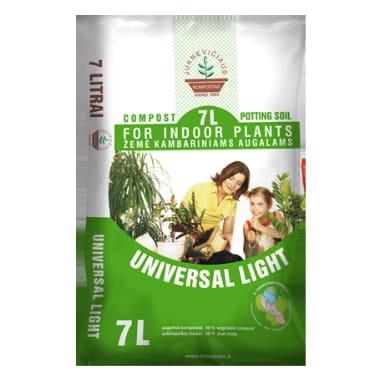 Komposta augsne Universal Light, 7 L