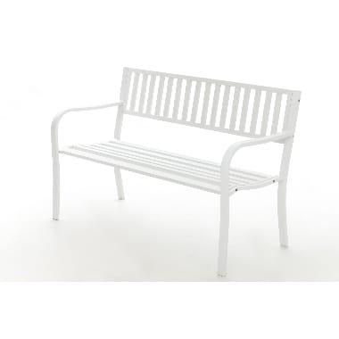 Dārza soliņš balts, 4living