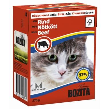 """Kaķu konservi """"Bozita Feline"""" ar liellopa gaļu mērcē, 370 g"""