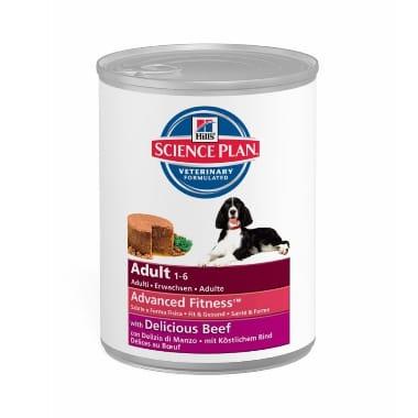 Suņu konservi ar liellopu Hills, 370 g