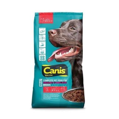 Suņu barība ar liellopu Canis, 3 kg