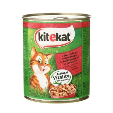 Kaķu barība ar liellopa gaļu Kitekat, 800 g