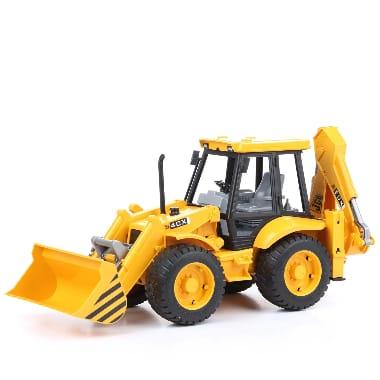 Rotaļu traktors - Frontālais iekrāvējs ar ekskavatoru, JCB4 4CX