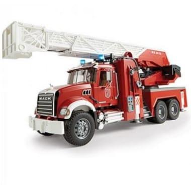 Rotaļu ugunsdzēsēju mašīna ar sūkni, MACK Granite